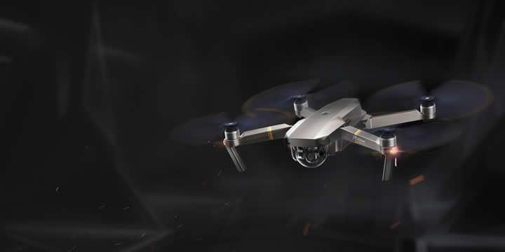 延長された飛行時間、低ノイズ飛行によりMavic Pro Platinumは、DJI史上最高性能のポータブルドローンです。