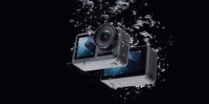 Osmo Actionは、デュアルスクリーンと高度な映像ブレ補正技術RockSteadyを搭載。最大4K/60fps 100Mbpsの高画質で撮影が可能。その瞬間の力強く捉えます。