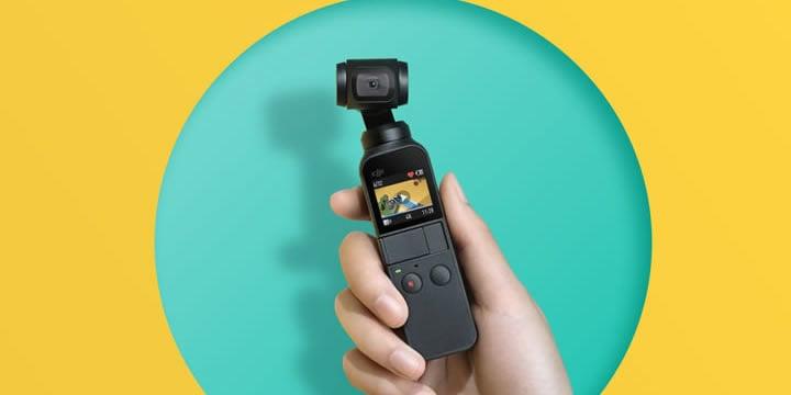 DJI史上最小の3軸スタビライザーを搭載し、高性能でコンパクトなOsmo Pocketは、すべてのシーンを輝く瞬間として記録するハンドヘルドカメラです。