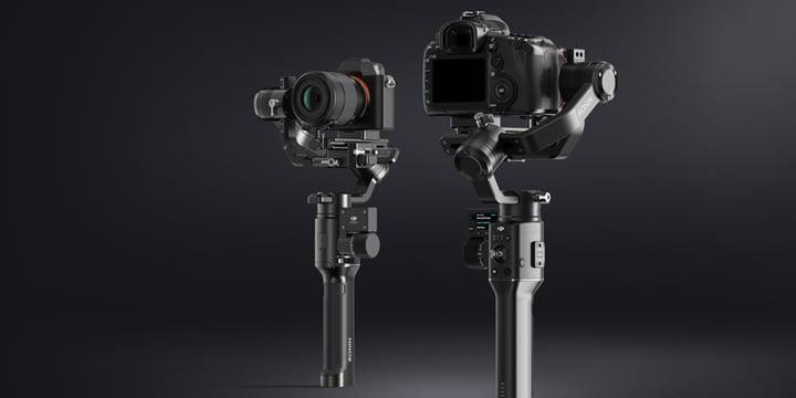 Ronin-Sは一眼レフとミラーレスカメラ用に設計された片手用カメラジンバルです。進化したスタビライズシステムによる精密な制御とマニュアルフォーカス機能を備え、手ブレを気にせず自由に動きながら安定した映像を撮影できます。
