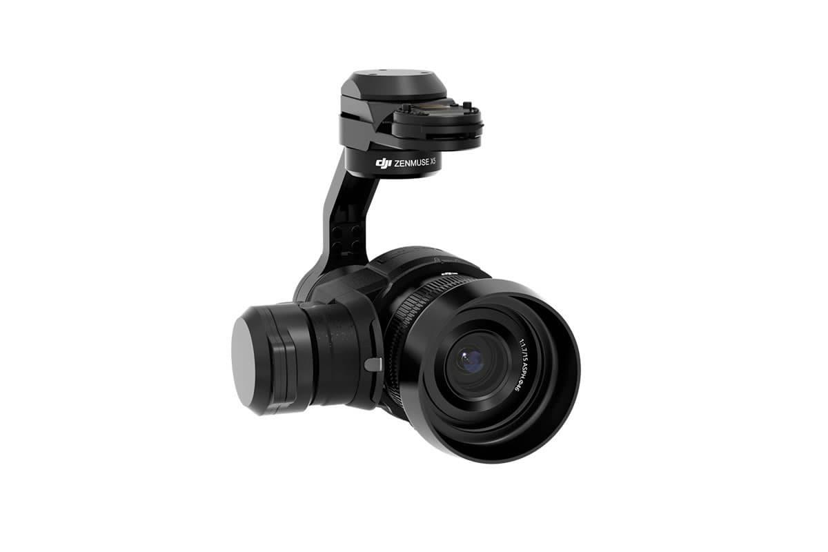 Zenmuse X5Rは、世界初のマイクロフォーサーズ(MFT)を採用した、RAWでロスレス4K動画の撮影出来る空撮カメラです。